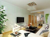 哈尔滨实创7万打造海富锦园两居室唯美清新风