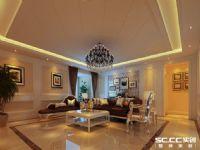 哈尔滨实创装饰打造百年俪景惬意现代欧式170平四居室