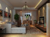 中鸿花园精装房项目――客厅