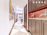 别墅装修,龙湖滟澜海岸165平美式装修设计|青岛实创装饰