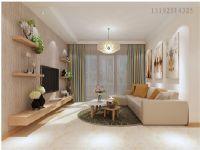 温莎郡128平三居室现代简约装修设计