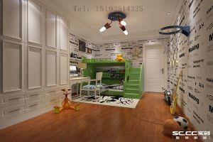 和达�Z城141平三居室现代简约装修设计