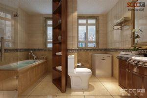 鲁商首府150平三居室美式装修案例