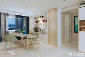 海尔地产・玫瑰兰庭132平三居室C1户型欧式装修|青岛实创装饰