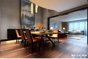 鲁德海德堡264平4室2厅3卫现代简约装修案例