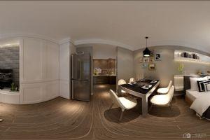 现代简约39平米一房一厅简洁装修效果图