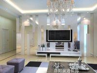 洛阳博雅苑三居室餐厅室内效果图|洛阳环保装修