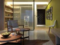 荆门华铭广场三室两厅现代风格全包