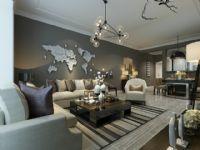 玉林中南装饰公司现代风格卧室设计
