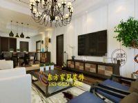 青岛市市南区颐中高山新中式风格风格装修设计图|青岛装修|东方家园装饰