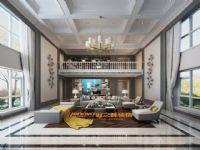 今日田园设计装修-别墅设计-简约美式风格-王洋作品