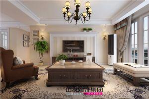 【山水装饰】海顿公馆130平米简美风格案例