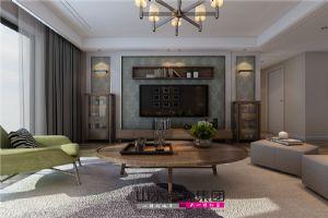 【山水装饰】滨湖世纪城临滨苑150平米空间设计案例
