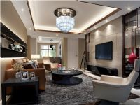 保利・拉菲公馆119平三居室现代简约装修案例