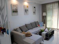 中渝・国际城124平三居室简约风格装修案例