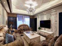 龙湖・花千树162平四居室欧式风格装修案例