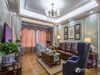 华远海蓝城173平四居室美式风格装修风格