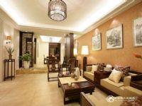 白桦林间170平四居室中式风格装修案例