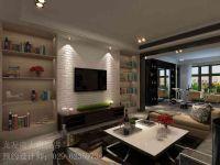 西安绿地香树花城156平米四室两厅两卫简约风格装修案例