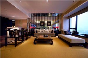 成都高度国际装饰新中式风格别墅装修案例