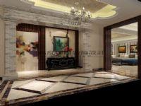 高度国际装饰大平层装修-九号公馆新古典主义风格案例设计