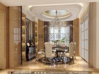 高度国际大平层装修-中粮祥云欧式风格案例设计