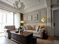 120�O美式风格三居室装修