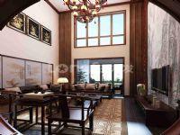 西安复式装修|西安龙发装饰|蔚蓝花城240平传统中式风格案例