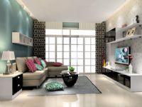 现代风格休闲客厅图片
