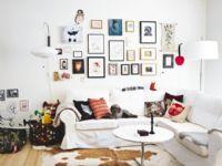 时尚简约美家客厅照片墙