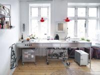 小户型简约风格厨房图片