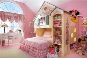 公主儿童房完美的小窝