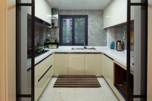 家庭装修厨房布局装修效果展示