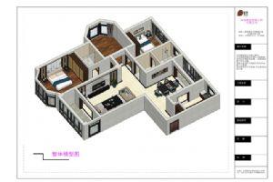 新中式模型图