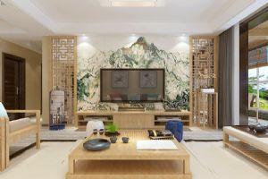 新中式风格-【盛邦大都会】-玉脂白遇到水墨黑-石家庄实创装饰