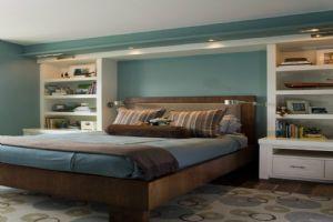 复古的卧室简欧家装效果图