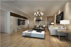 岳阳金鹗花园80平2室1厅现代装修客厅效果图