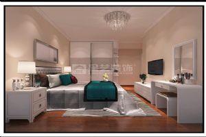 岳阳现代装修天鹅湖三期138平4室1厅卧室效果图
