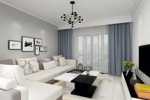 明亮简洁的客厅