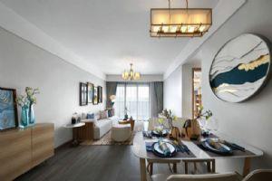 100�O极简新中式风格家居设计,以功能为基础,强调轻装修重装饰,化繁为简,别具韵味!