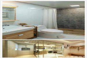 日式卫浴间