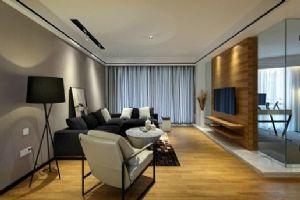 110平米的现代风格客厅
