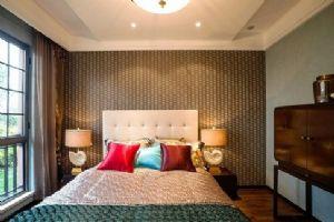 90平米中式风格的卧室