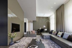 86平米的现代风格的客厅