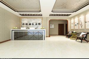 小楼温泉宾馆效果图--大厅