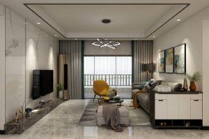 碧桂园珑尚花园 现代简约风格,客厅效果图