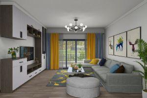 惠州江北丽日君颐家园装修现代简约,卧室效果图